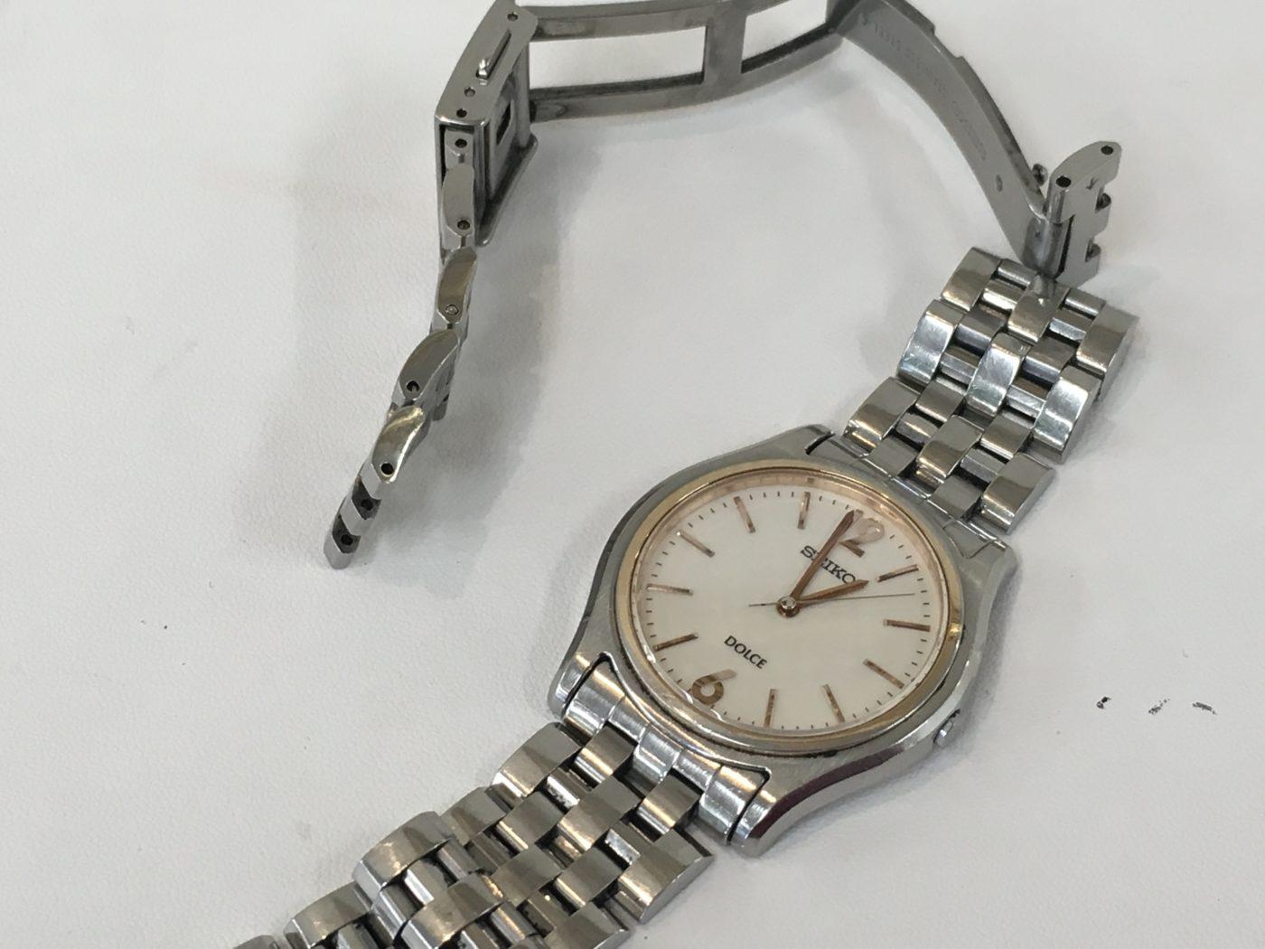 SEIKO DOLCE セイコー 腕時計 ベルト修理 割りピン