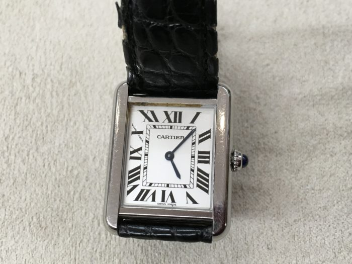 カルティエ 腕時計 電池交換