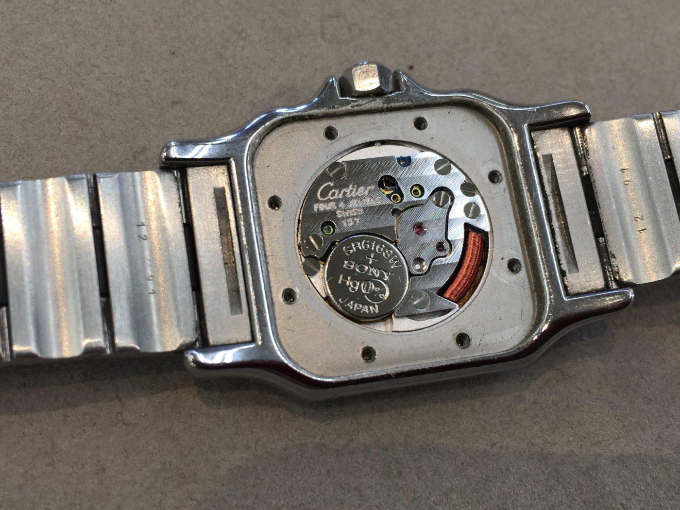 カルティエ 腕時計 ETA社 ムーブメント