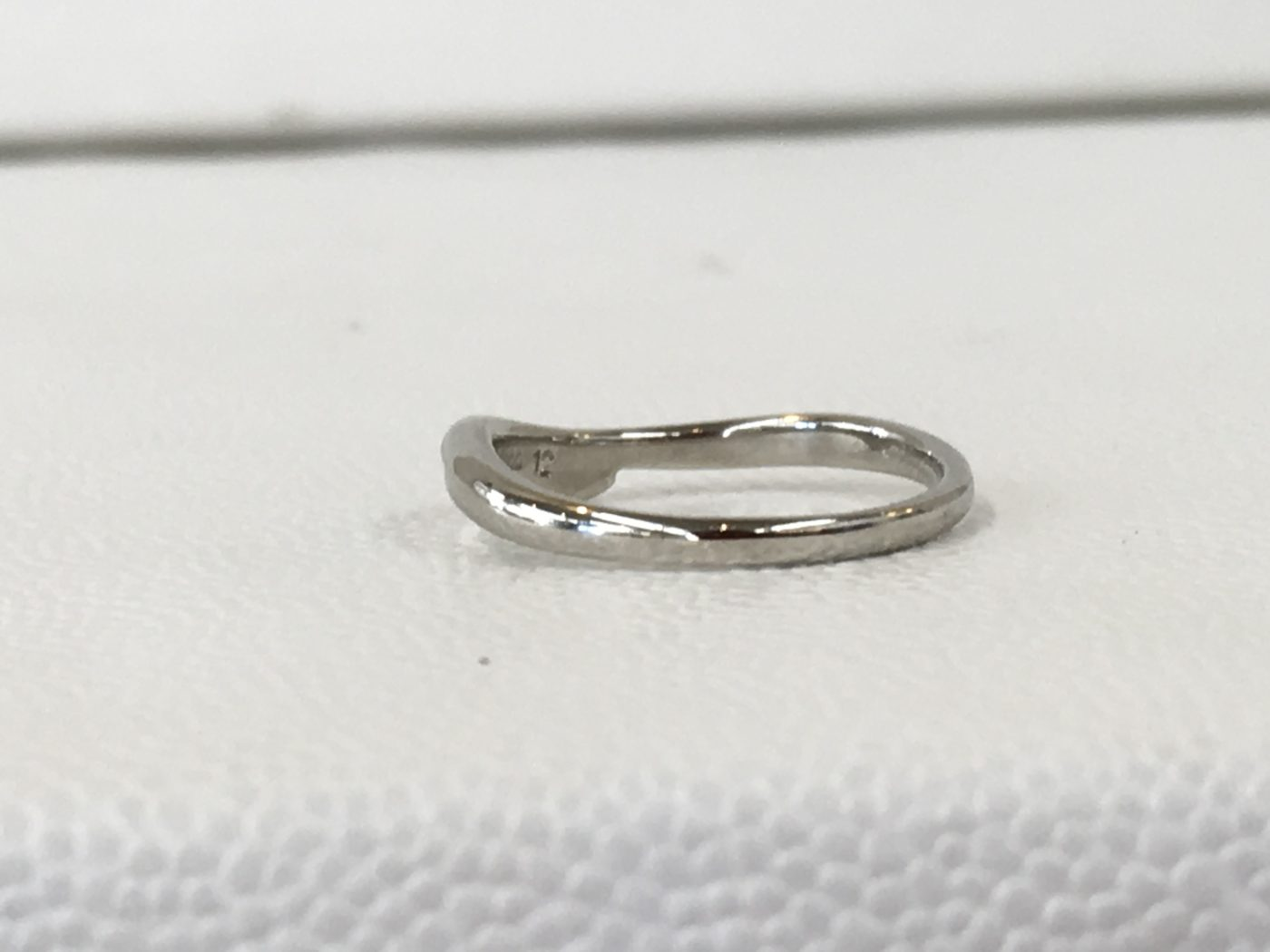 リングの修理 結婚指輪 ロー付け 山梨県