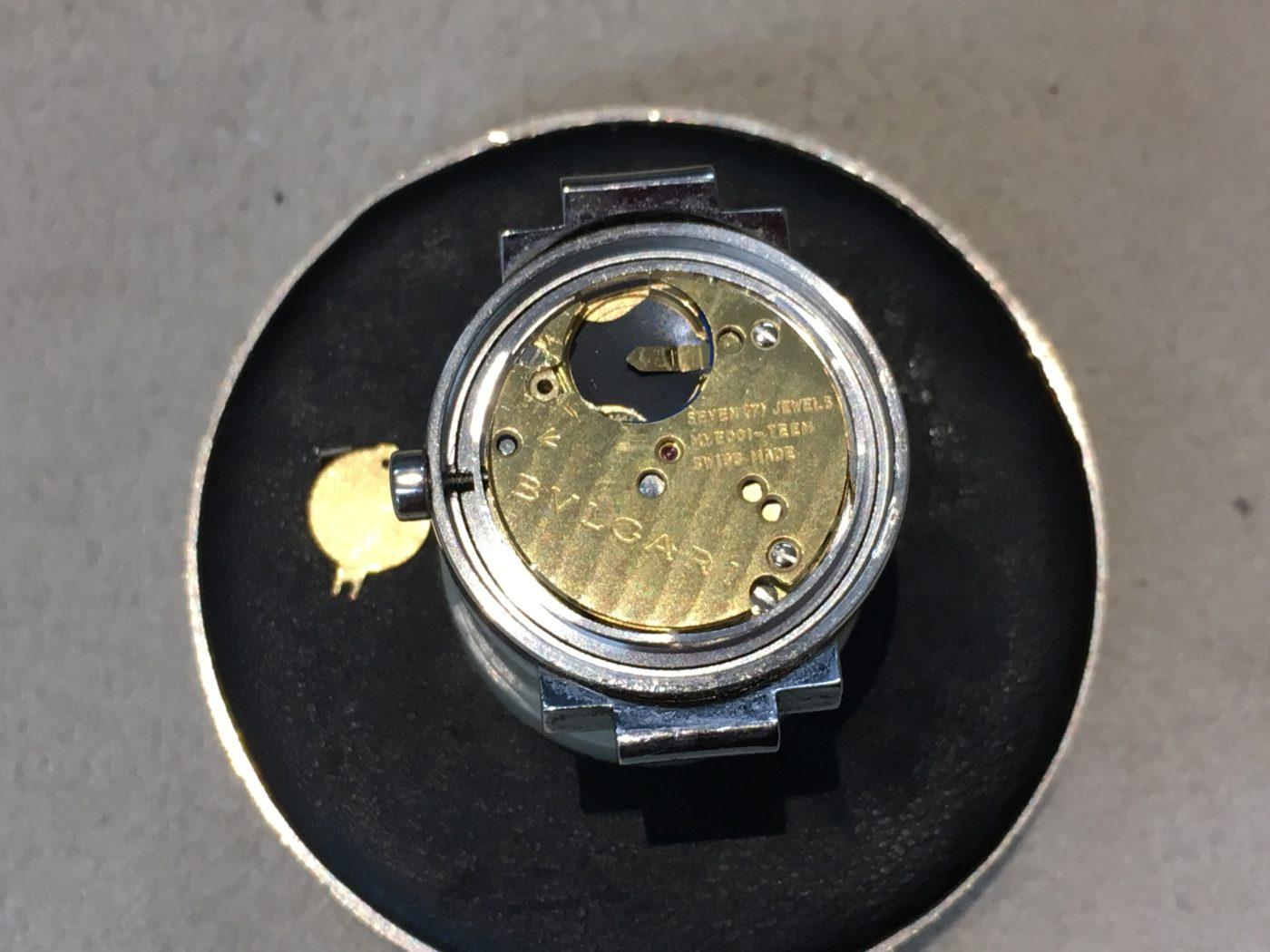 BVLGARI ブルガリ 腕時計 電池交換 山梨県 富士河口湖町 金額 本物