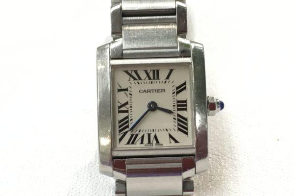 本日の腕時計電池交換 カルティエ、マークジェイコブス、Knot、テクノス…etc