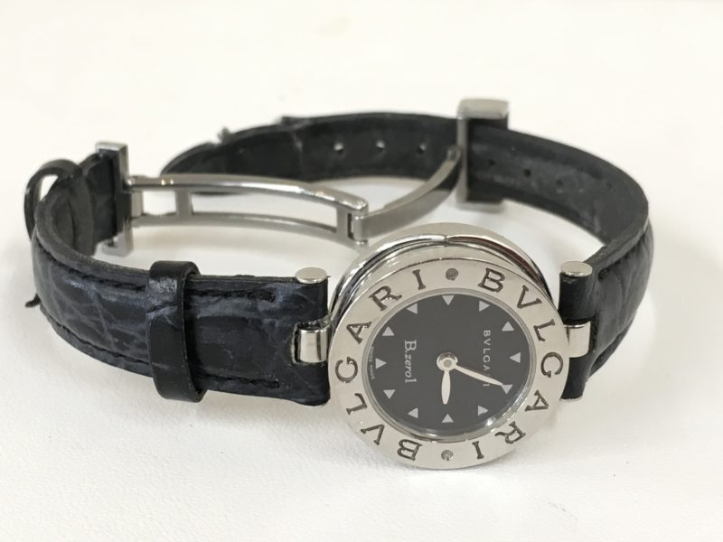 BVLGARI ブルガリ 腕時計 革ベルト交換 修理 山梨県