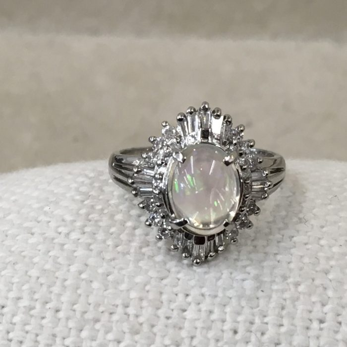 オパールの指輪 作り替え 指輪リフォーム