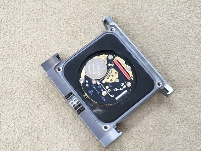 GUCCI腕時計 ETA 電池交換