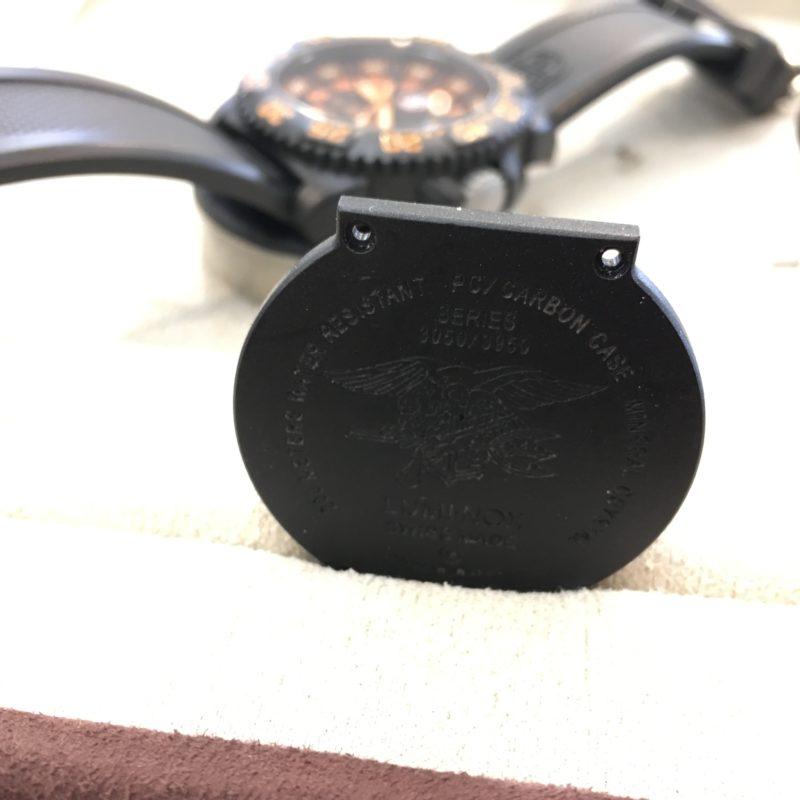ルミノックス 腕時計の電池交換 河口湖