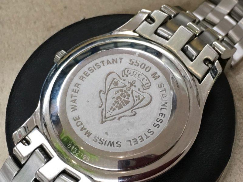 グッチ 腕時計 電池交換
