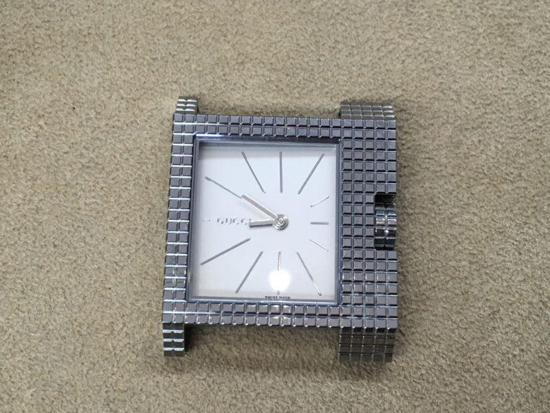 GUCCI 腕時計 電池交換