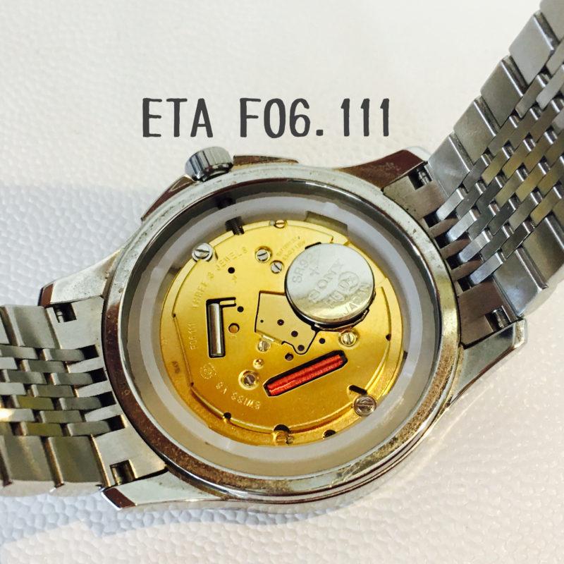 ETA F06.111_ムーブメント
