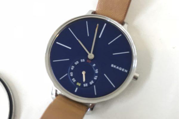 スカーゲン腕時計・SKW2355/SKW2356の電池交換お待ちの間にすぐ出来ます。