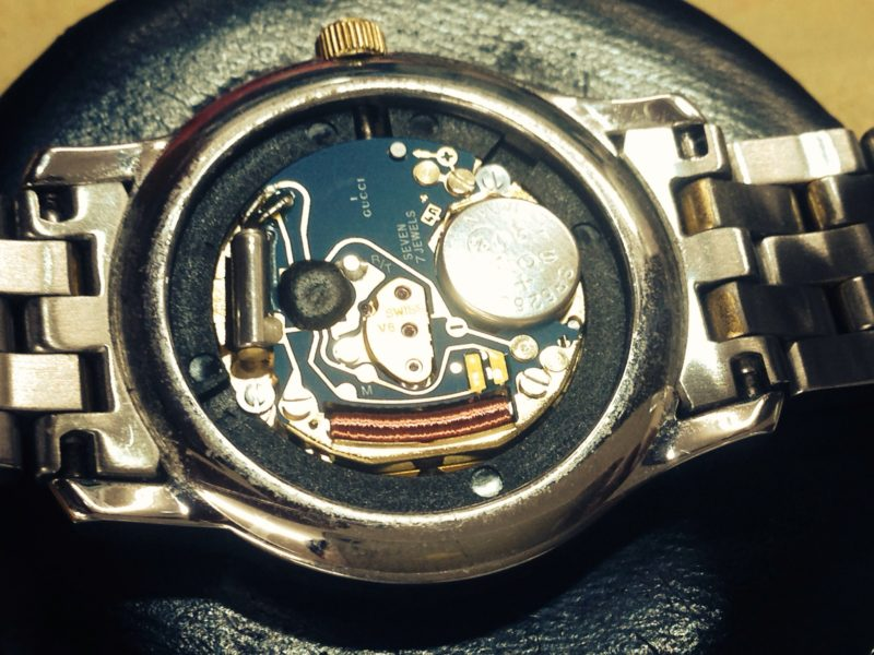 GUCCI グッチ 腕時計 ムーブメント ETA 956.112