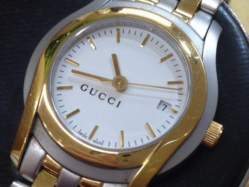 GUCCI GUCCI 腕時計 電池交換 ETA 956.112 ムーブメント
