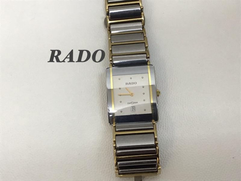 RADOのダイアスター_160.0281.3N_電池交換