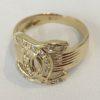18金製の指輪の修理(爪が引っかかる)