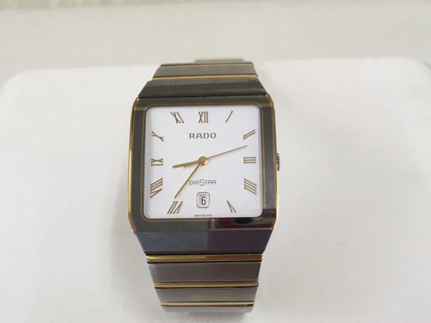 RADO DIASTAR 電池交換 金額 腕時計