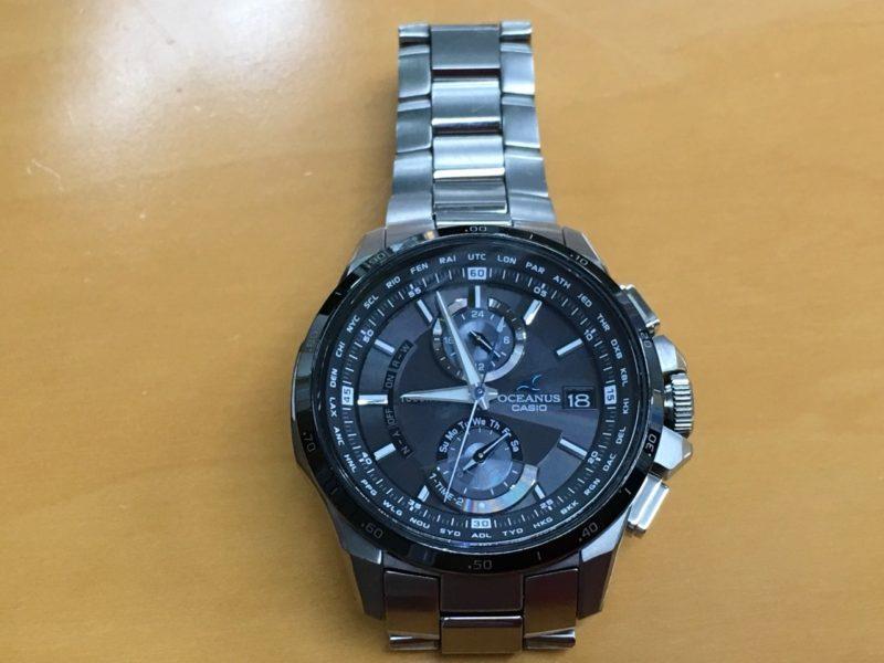 CASIO オシアナス 腕時計 充電