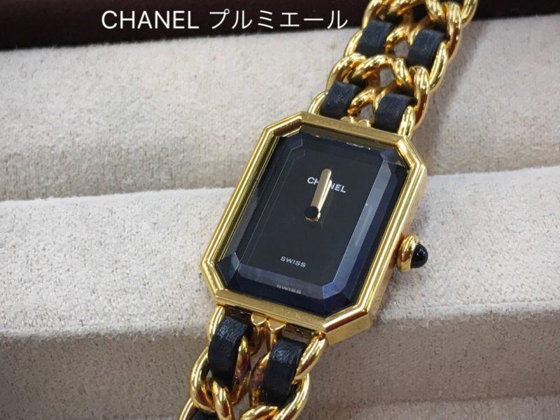CHANEL シャネル 腕時計 電池交換 プルミエール 8角形