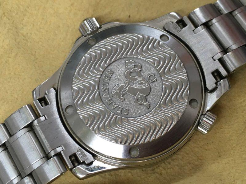 OMEGA シーマスターオメガ 腕時計 裏ブタ