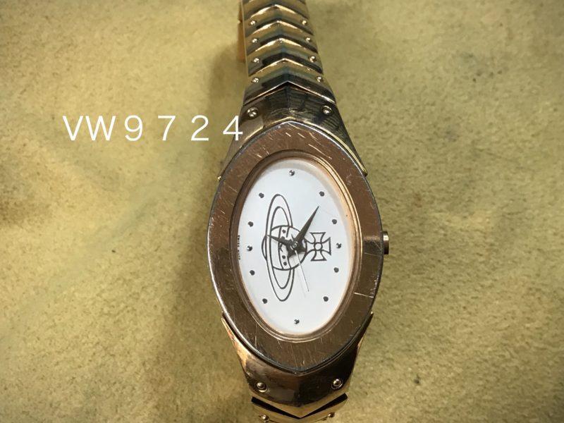 ヴィヴィアン・ウエストウッドの腕時計 電池交換 VW9724