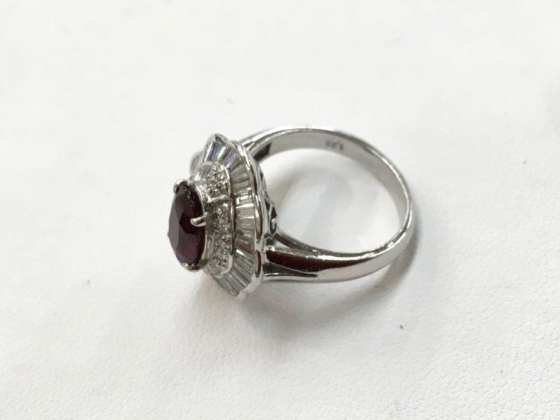 ルビーの指輪 ジュエリーリフォーム 作り替え