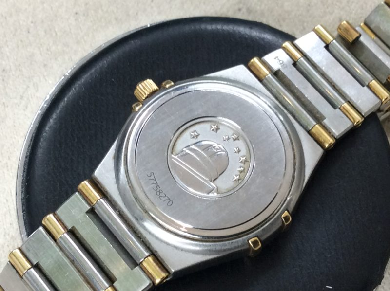OMEGA オメガ コンステレーション 腕時計 電池交換