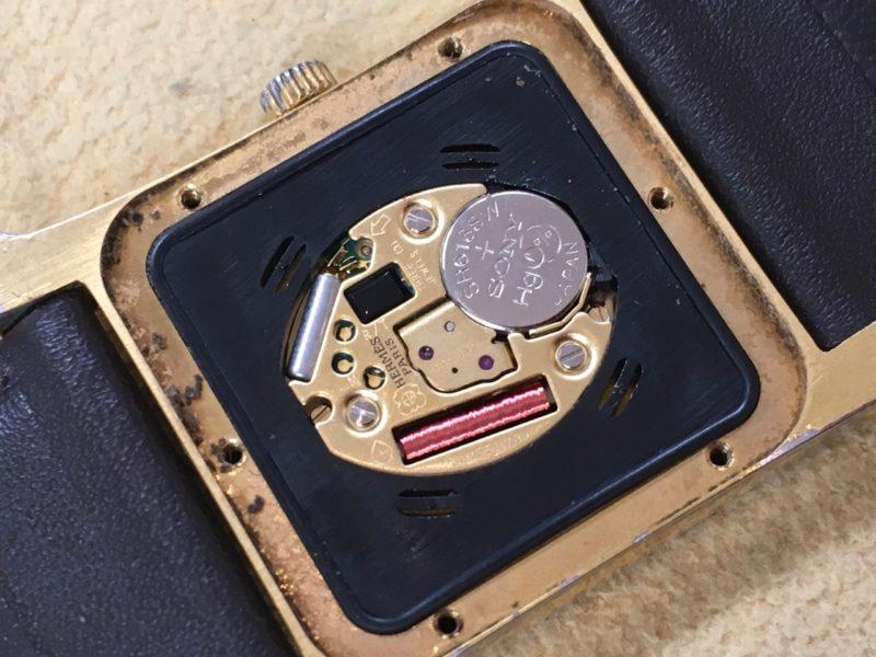 エルメス腕時計 電池交換