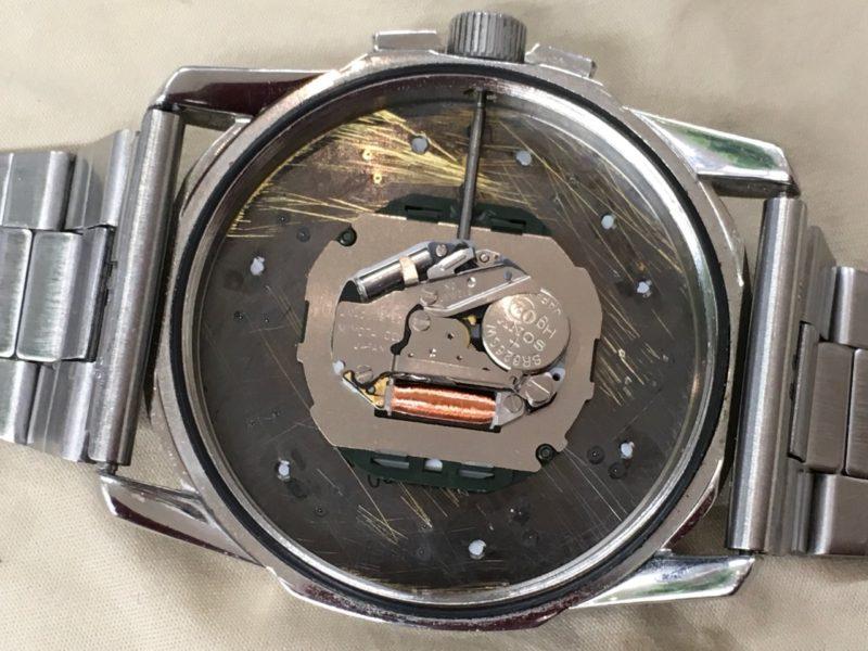 ディーゼル 腕時計 ムーブメント MIYOTA でんち