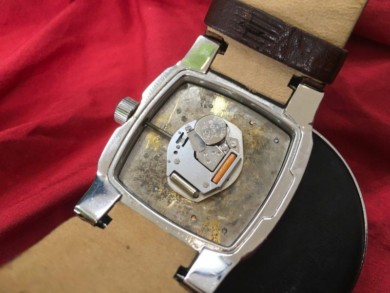 腕時計 ディーゼル 電池交換 DZ-1090 DIESEL ムーブメント