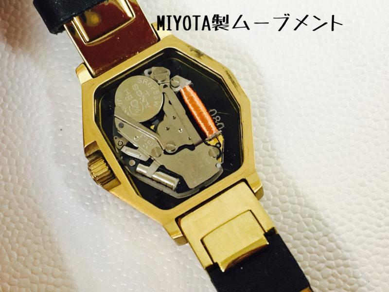 ディーゼルのムーブメント_MIYOTA2036