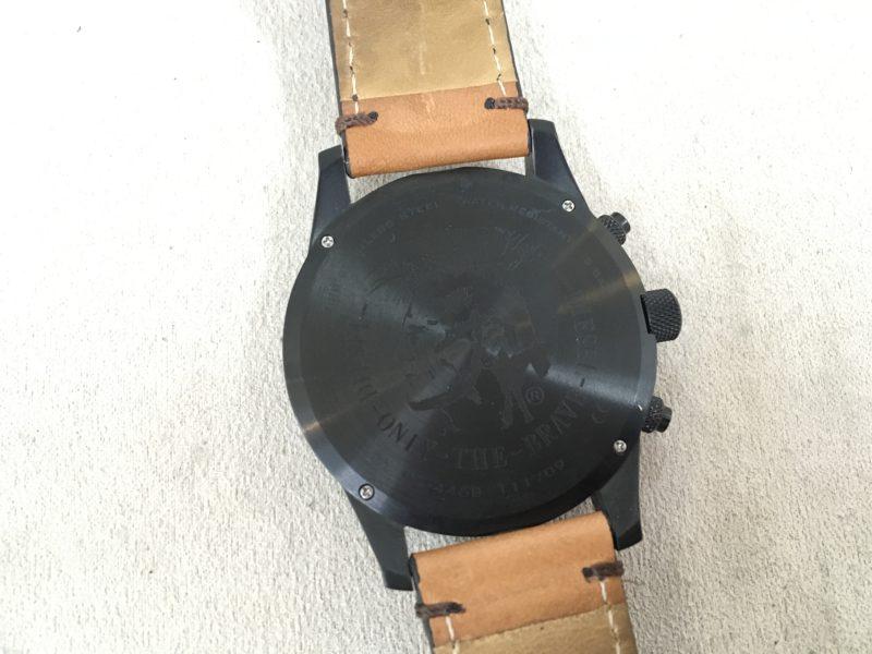 ディーゼルの腕時計の電池交換