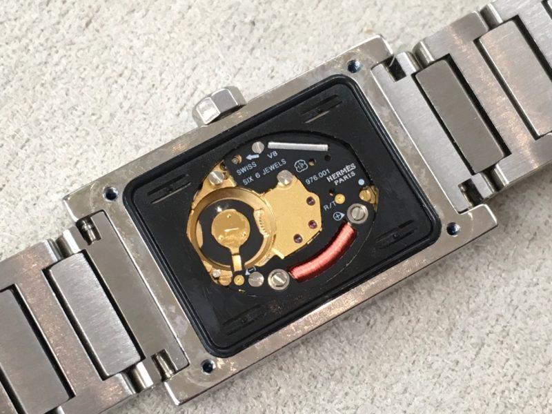 エルメス タンデム 腕時計 ムーブメント ETA