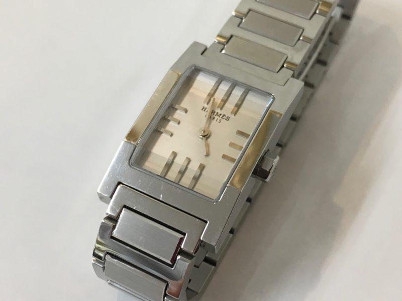 HERMES エルメス 腕時計 タンデム 電池交換