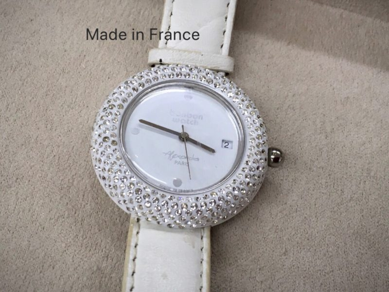 bonbon watch フランス 腕時計 電池交換 テクノタイム