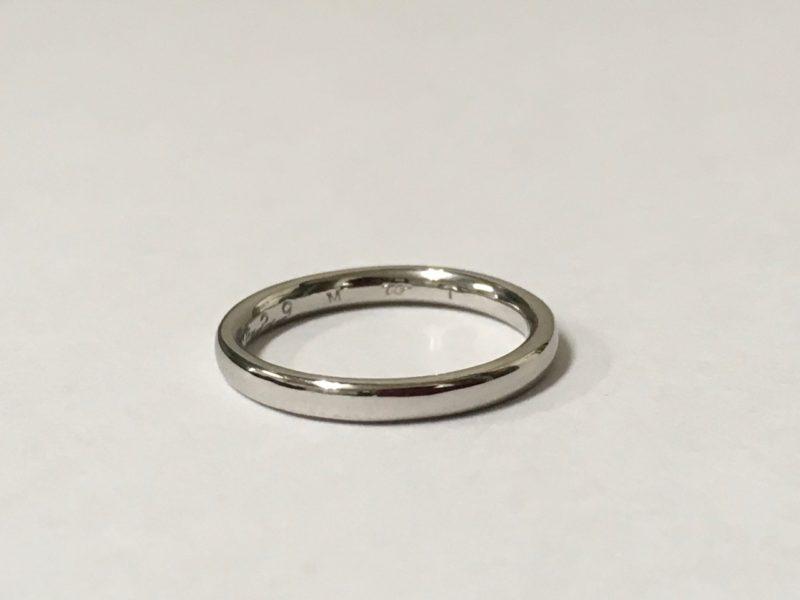 結婚指輪 修理 ダイヤ取れた