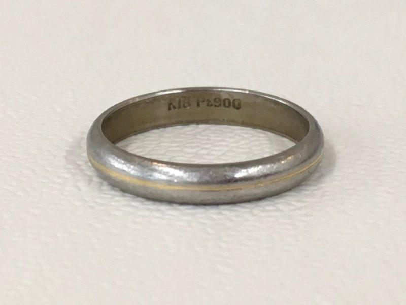 18金の指輪 修理