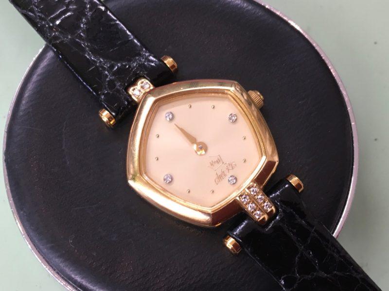 星の砂の腕時計 電池交換