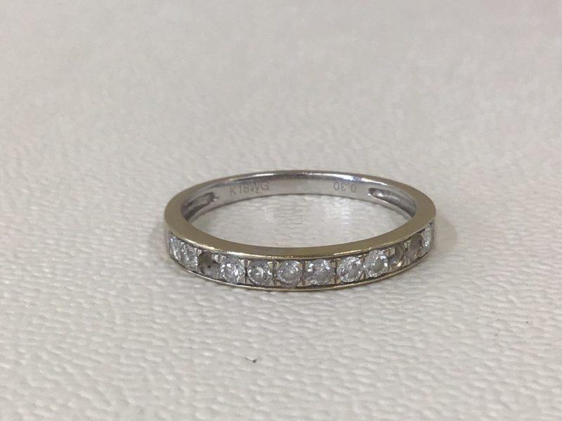 指輪からダイヤが外れた