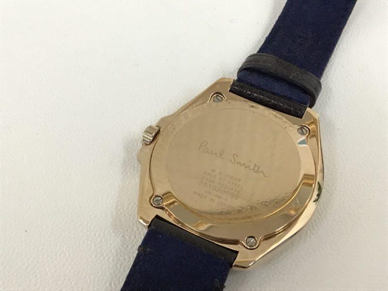 ポールスミス 腕時計 電池交換 裏ブタ