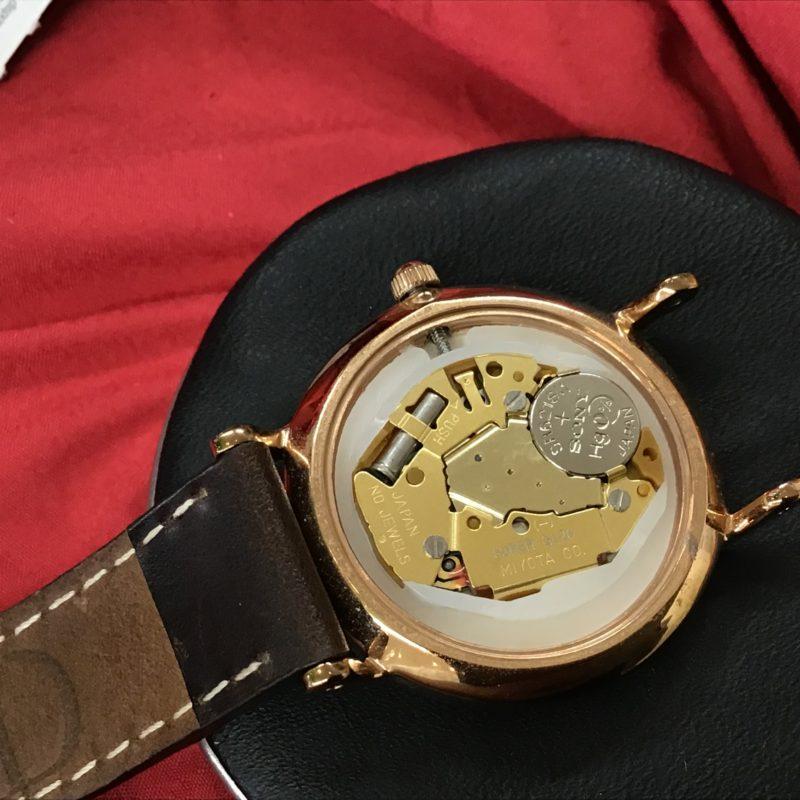 ダニエル・ウェリントン 腕時計 ムーブメント MIYOTA GL20 電池交換