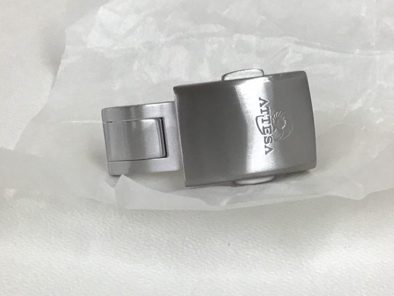 CITIZEN ATTESSA 腕時計のベルト修理 バックル