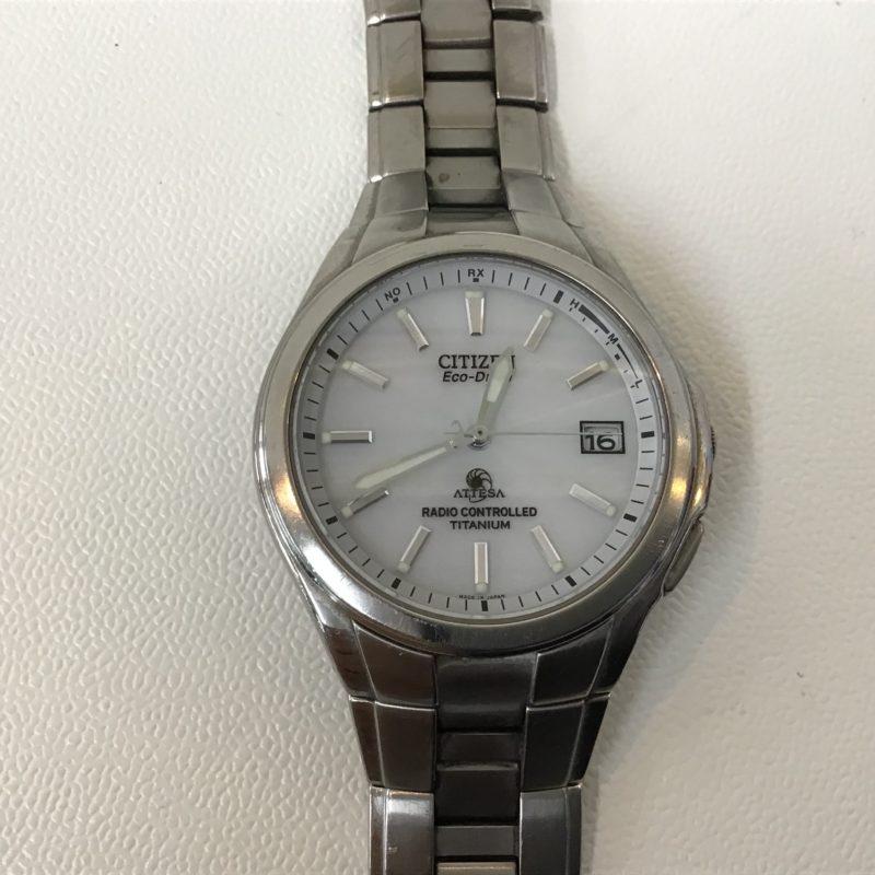 CITIZEN ATTESSA 腕時計 エコドライブ 電波ソーラー 修理