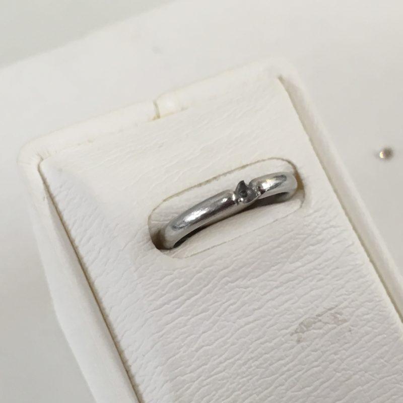 指輪のダイヤが外れて無くなってしまった