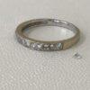 指輪からダイヤが3つも外れて無くなってしまった!?(涙)