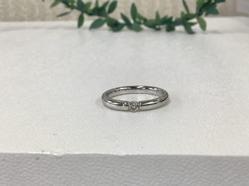 結婚指輪のダイヤが外れて無くなった