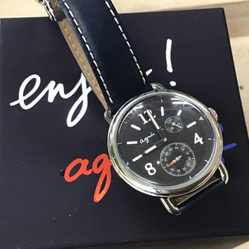 アニエス・ベー 腕時計 電池交換