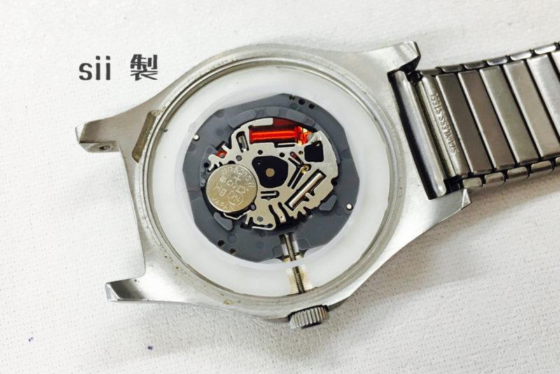 マークジェイコブス腕時計の電池交換_ムーブメント