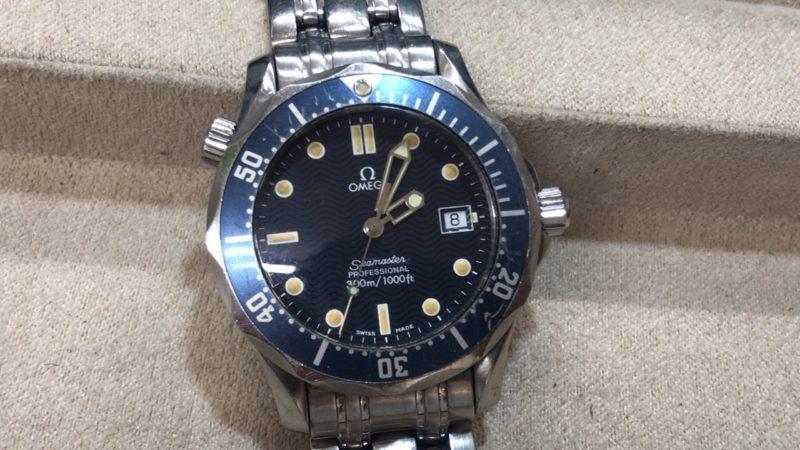 OMEGAオメガのシーマスターの電池交換 腕時計 オプトナカムラ