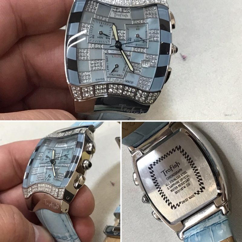 ToroFishの腕時計の電池交換