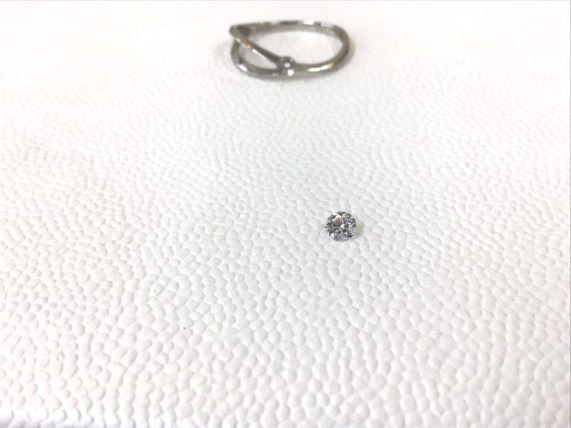 ダイヤモンドリングの修理
