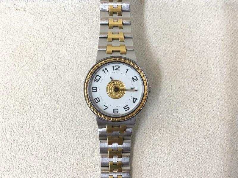 エルメスの腕時計セリエ
